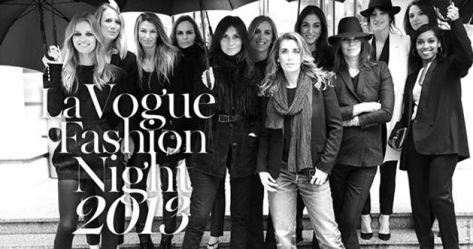 Vogue Fashioin Night Out - Paris 2013...
