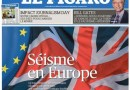 Europe.. in Shock…