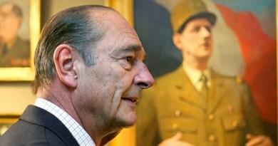 Jacques Chirac.. Adieu