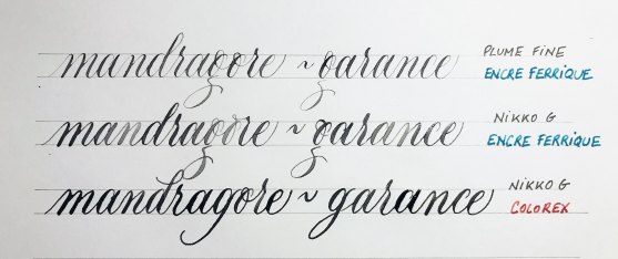 #calligraphy #calligraphie #moderncalligraphy #copperplate #anglaise #encre