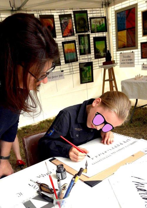 #calligraphie #initiation #apprendrelacalligraphie #enfants