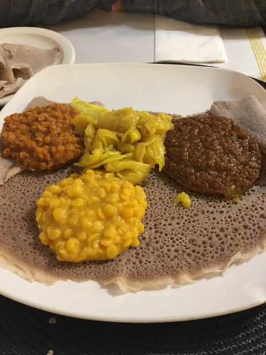 Ethiopian Dinner with B Rog!