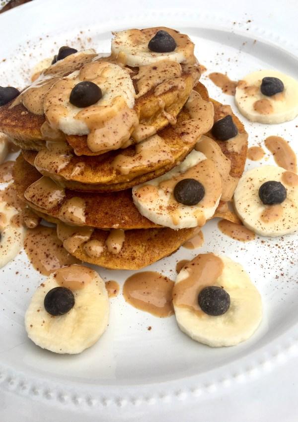 Pumpkin Pancakes (GF, Paleo)