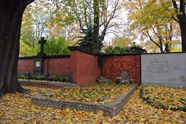 A Berlino nei luoghi di Bertold Brecht: tomba di Brecht e Weigel