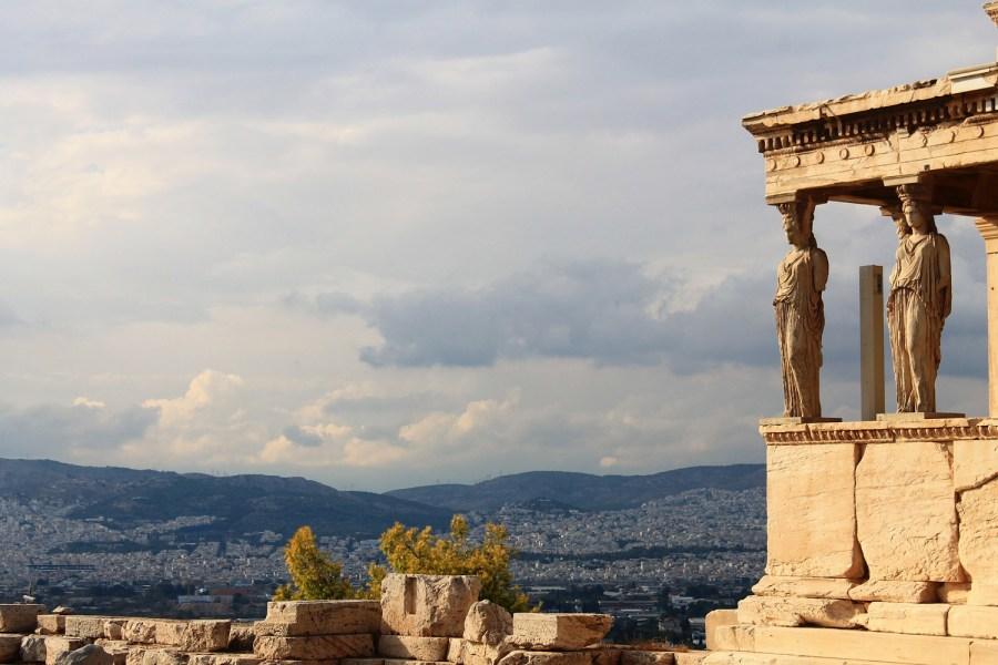 Atene, cannella e cemento armato, Patrizio Nissirio: vista dell'acropoli