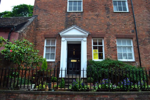 Shrewsbury, Inghilterra: Claremont House, 13