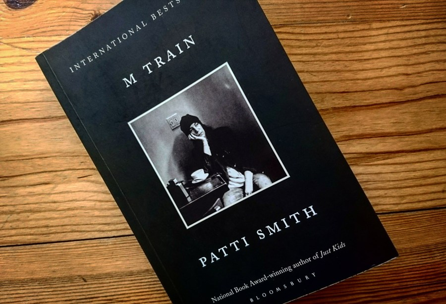 M Train, Patti Smith, libro, copertina