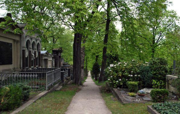 Sulle tracce dei fratelli Grimm a Berlino: cimitero St. Matthaus