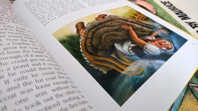 Fiabe ceche: illustrazione, Kate