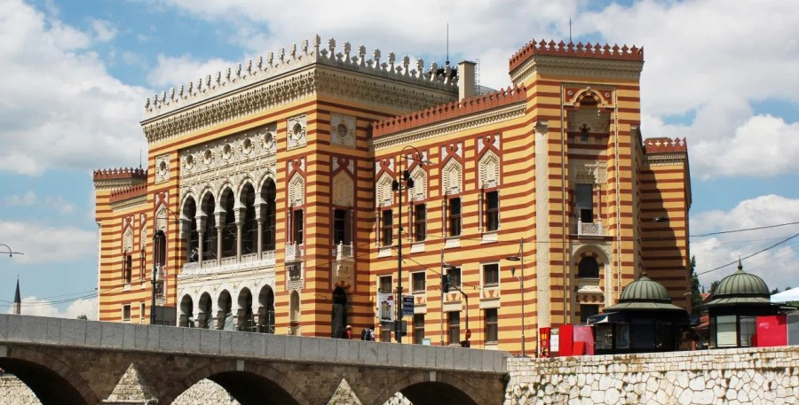 Sarajevo, Vijecnica