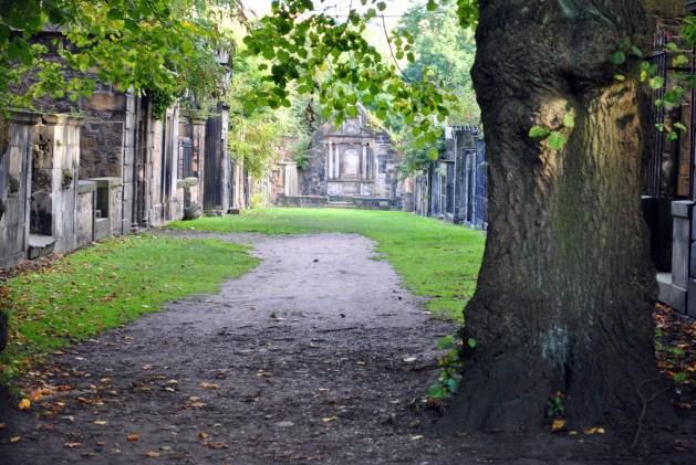 Edimburgo, cimitero di Greyfriars: Covenanters' Prison vista dal cancello