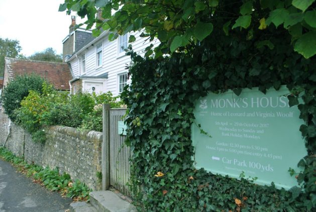 Monk's House, Rodmell, Virginia Woolf: esterno, ingresso