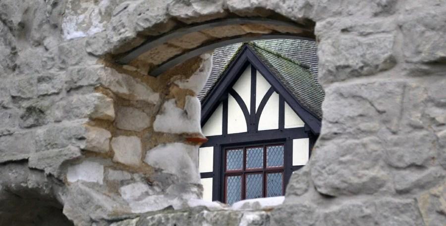 Arundel, particolare di una casa
