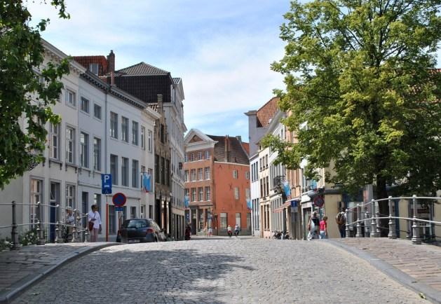 Viaggio letterario a Bruges, pont du Moulin