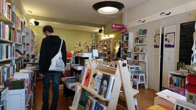 Utrecht, città della letteratura Unesco   Libreria Savannah