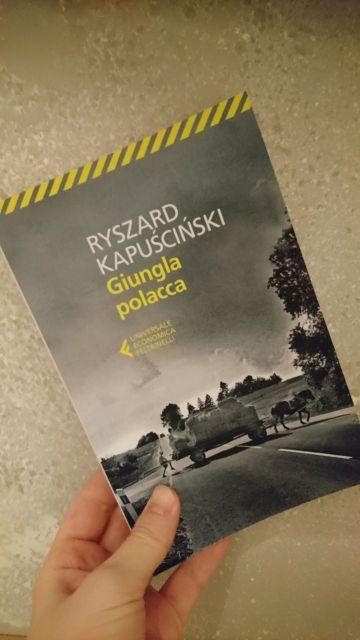 Giungla polacca, copertina del libro.