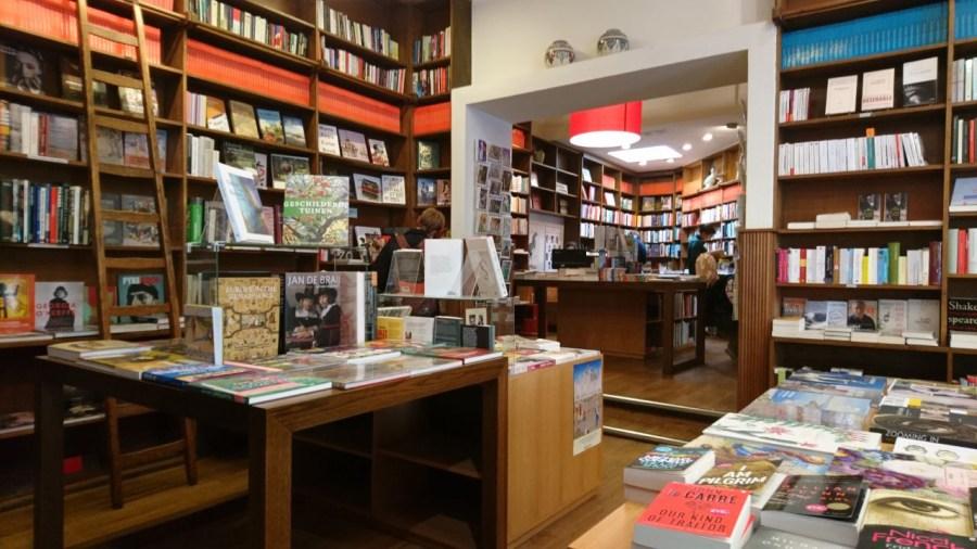 Boekhandel Bijleveld, Utrecht, interno