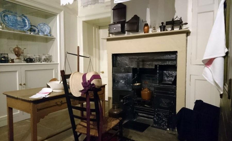 Brontë Parsonage Museum, cucina