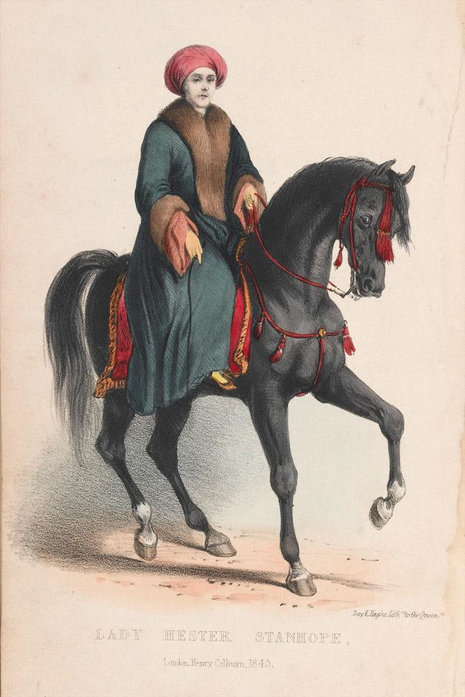 Lady Hester a cavallo