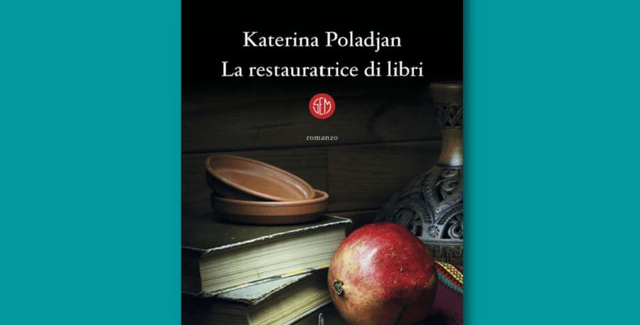 La restauratrice di libri, Katerina Poladjan, copertina