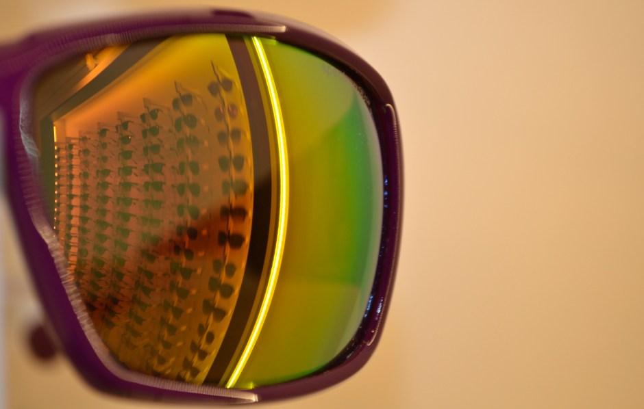 reflet dans lunettes