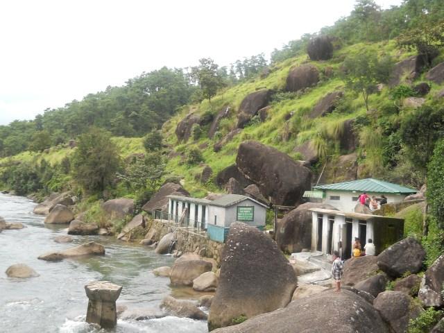 The hot water spring at Jakrem, Shiilong.