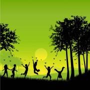 Kids Playing Outside | Happy Kids