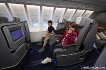 Lufthansa Business Class Boeing 747-8 Upper Deck