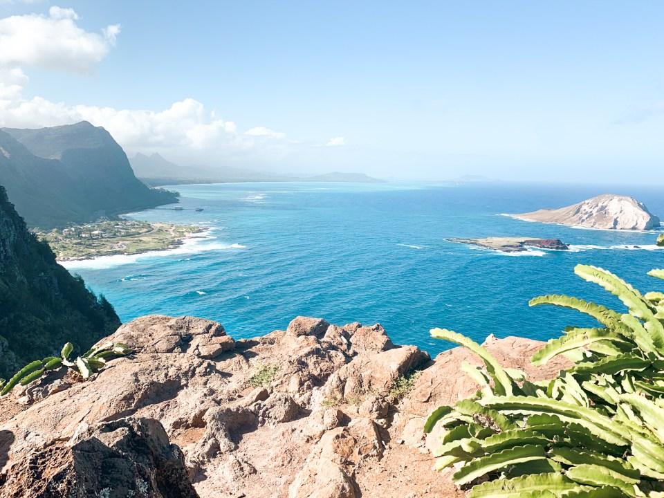 Alan Davis Best beaches on oahu View from Makapuu Lighthouse Trail Hike in Honolulu on Oahu South East side