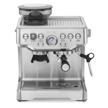 best espresso machine - breville barista express review - espresso beans for crema