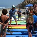 Encinitas surf camp at Moonlight Beach
