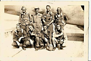 dwain kantor air force group shot1940s2