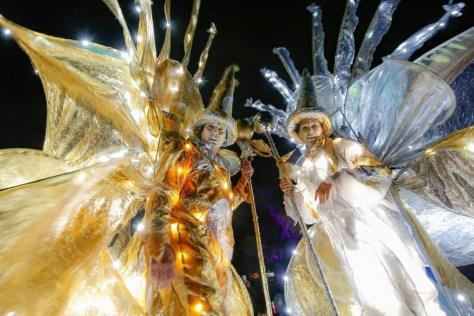 Zeus Stelzentheater - Lichtzauber Gold u Silber - Dortmund - Lichterfest
