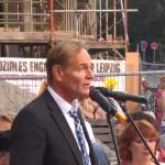 OBM von Leipzig Burghard Jung mit klaren und starken Worten für buntes Leipzig