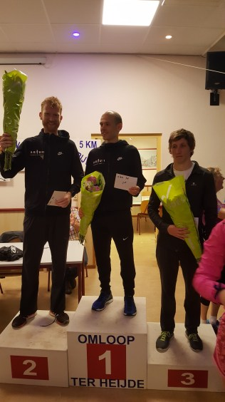 podium 5 km