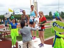 Winnaars 10 km dames