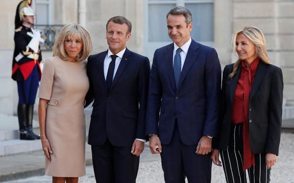 επίσκεψη Μητσοτάκη στη Γαλλία