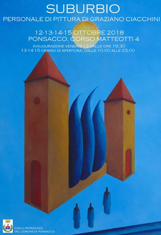 La pittura di Graziano Ciacchini tra percezione e sperimentazione