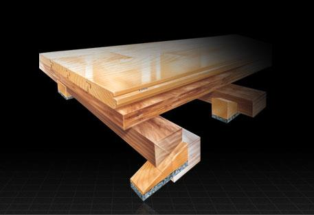 permanent wood flooring