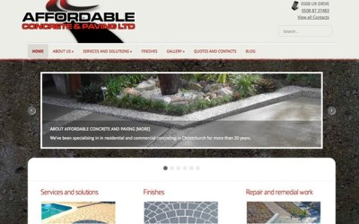Affordable Concrete and Paving, Christchurch NZ
