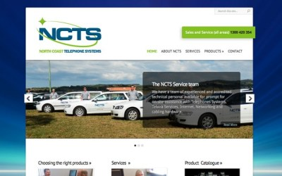 Website Redesign: North Coast Telephone Systems