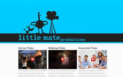 New Website: Little Mate Productions