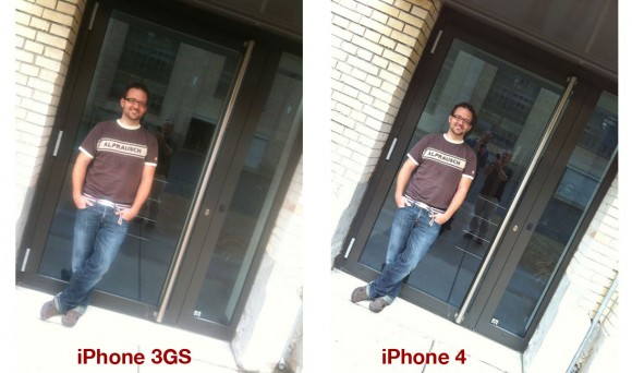 iphone 3gs vs. iphone 4