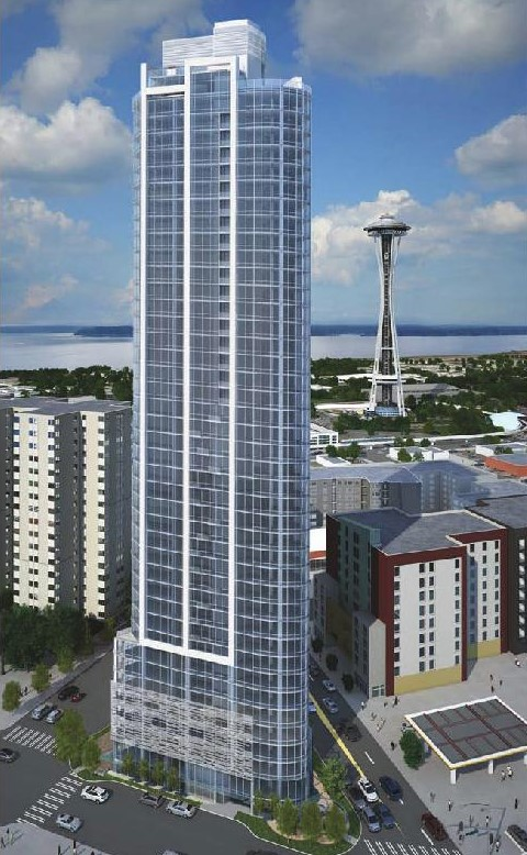 Tower Near Space Needle Will be Condos  Named Spire