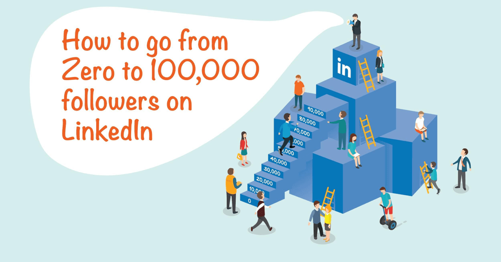Zero to 100,000 Followers on Linkedin