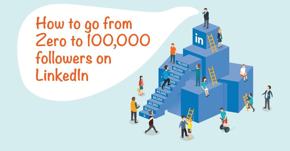 Zero to 100,000 Followers on Linkedin
