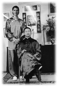 Sifu David Leung and Viola