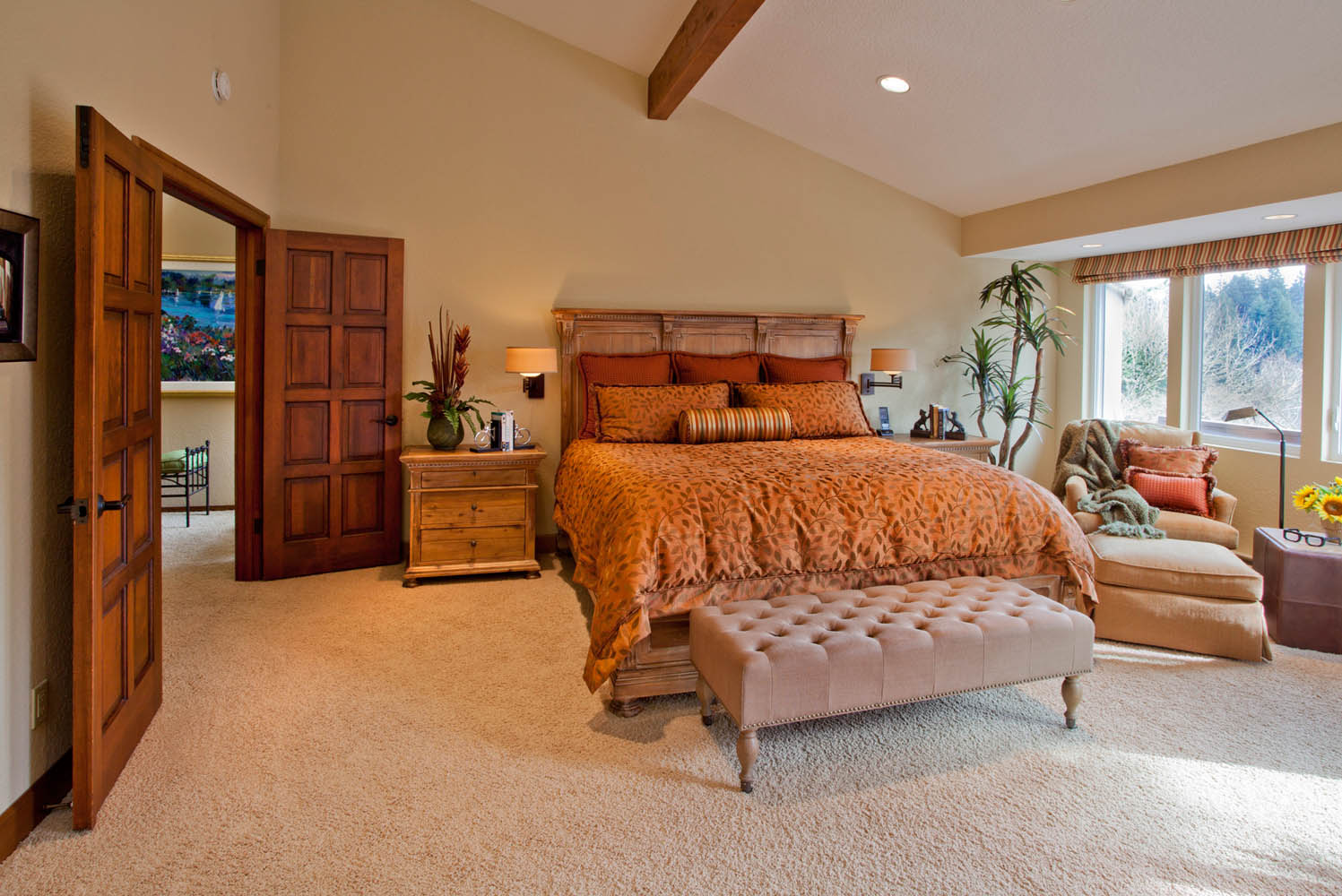Enhanced-Italian-Traditional master suite