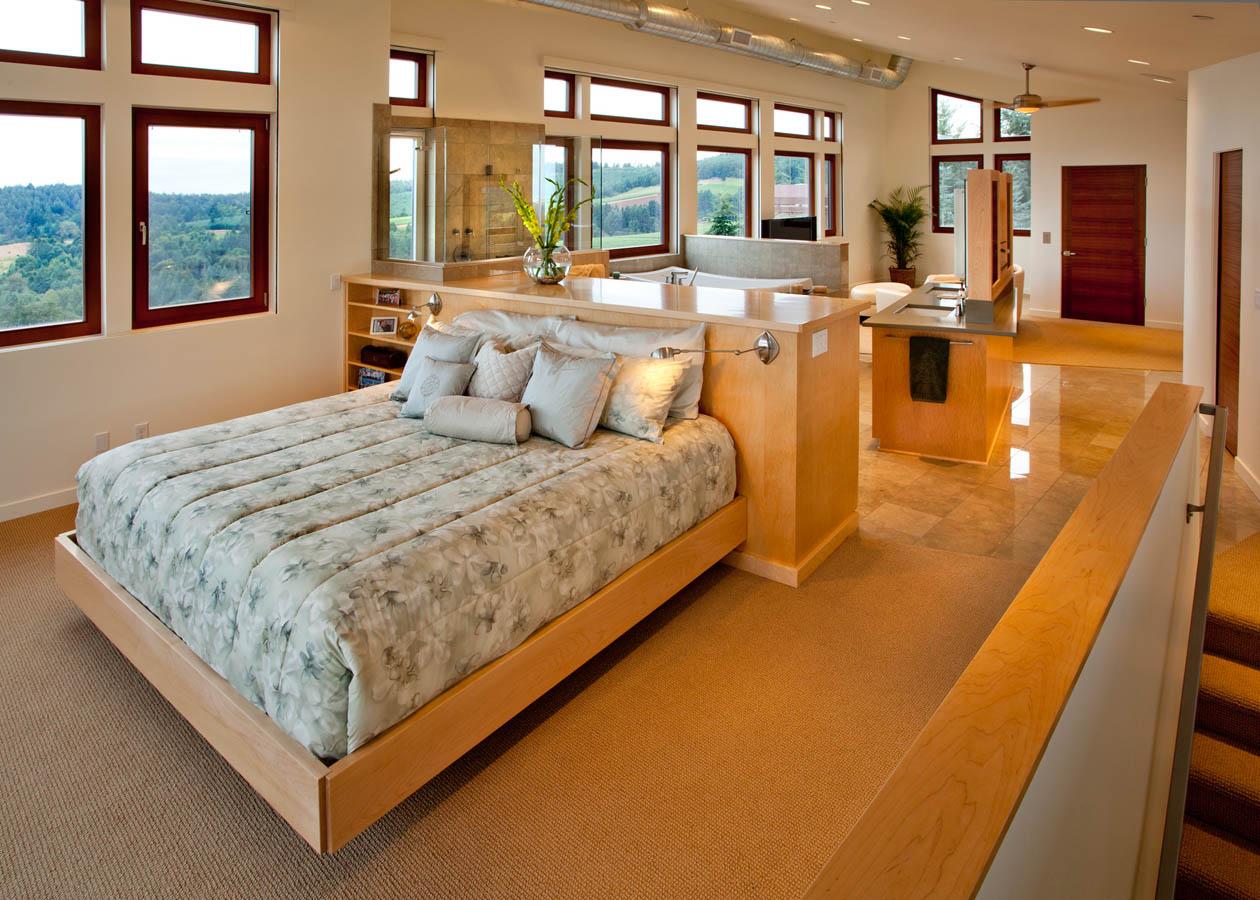 Northwest-Contemporary master bedroom concept