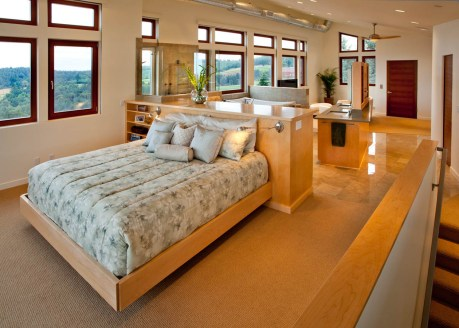 Northwest-Contemporary master bedroom concept